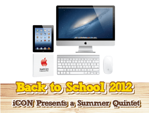 Apple Back to School 2012