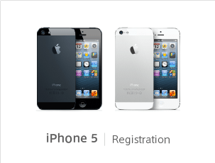 iPhone 5 Registration