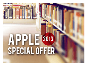 Apple Special Offer 2013