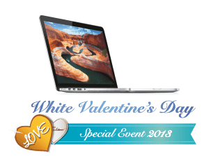 White Valentine's Day Special Event 2013